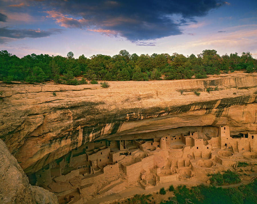 Anasazi Photograph - Usa, Colorado, Mesa Verde National Park by Jaynes Gallery