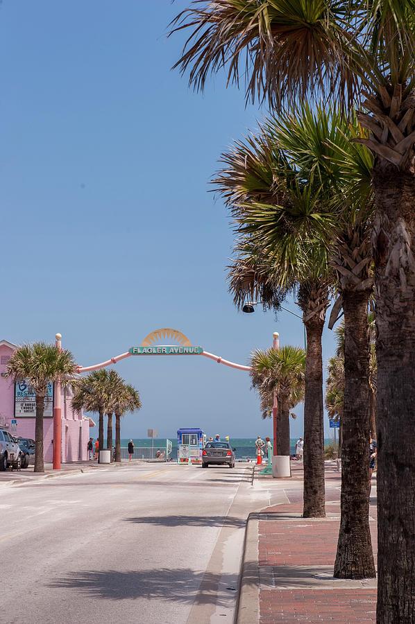 Atlantic Ocean Photograph - Usa, Florida, New Smyrna Beach, Flagler by Lisa S. Engelbrecht