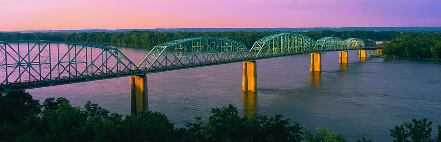 Color Image Photograph - Usa, Missouri, High Angle View by Panoramic Images