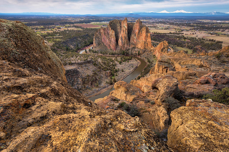 Usa, Oregon, Deschutes County, Rocky Photograph by Gary Weathers