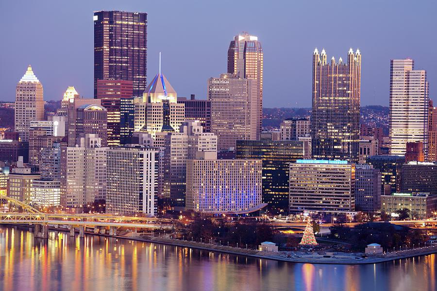 Usa, Pennsylvania, Pittsburgh, Cityscape Photograph by Henryk Sadura