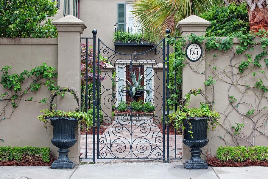 Architecture Photograph - Usa, Sc, Charleston, Historic District by Rob Tilley