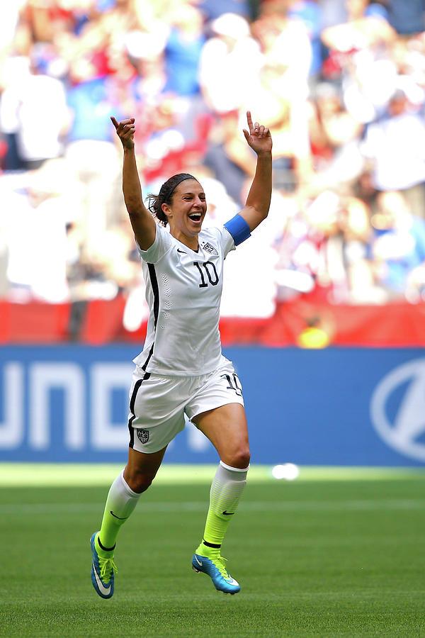 Usa V Japan Final - Fifa Womens World Photograph by Kevin C. Cox