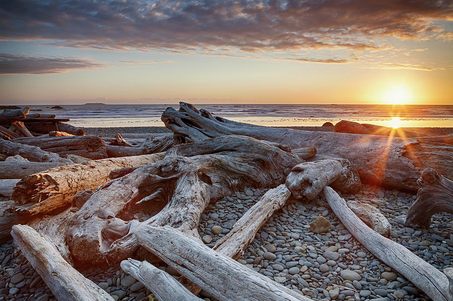 Usa, Washington State, Olympic National Photograph by Bryan Mullennix