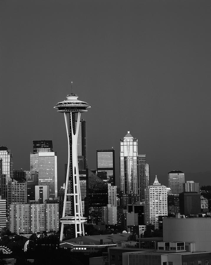 Adam Jones Photograph - Usa, Washington State, Seattle, Space by Adam Jones