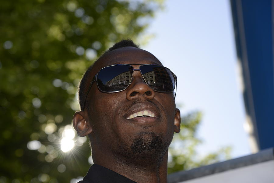 Usain Bolt Photograph - Usain Bolt - The Legend 1 by Teo SITCHET-KANDA