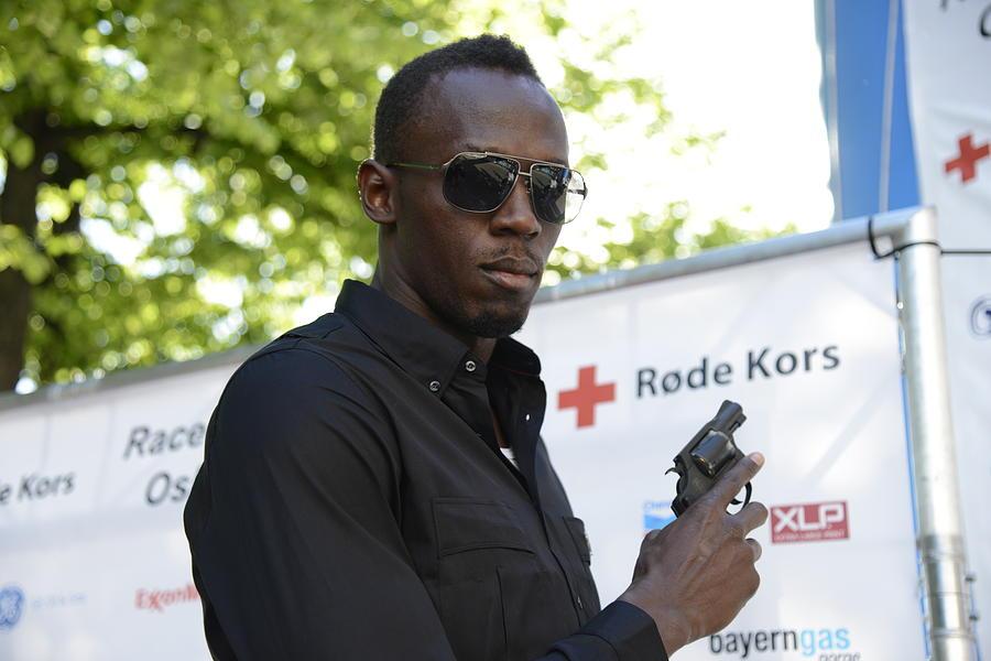 Usain Bolt Photograph - Usain Bolt - The Legend 4 by Teo SITCHET-KANDA