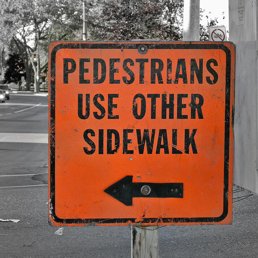 Use Other Sidewalk Photograph