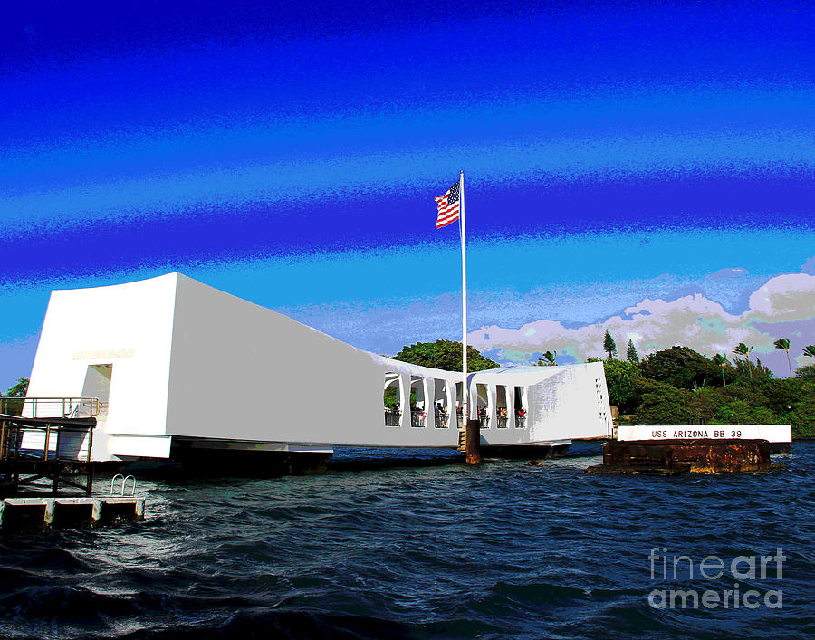 USS Arizona by Larry Oskin