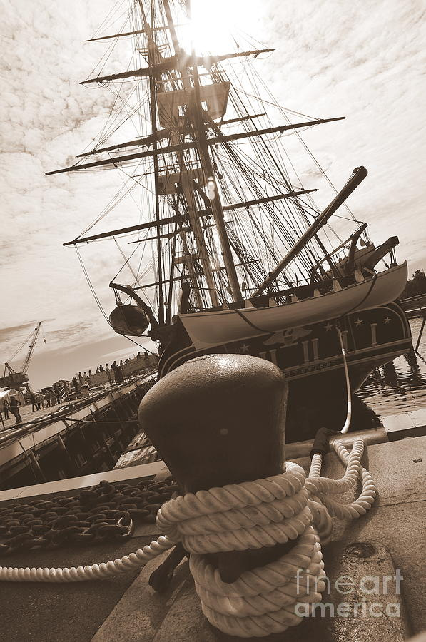 Boston Ma Photograph - Uss Constitution by Catherine Reusch Daley