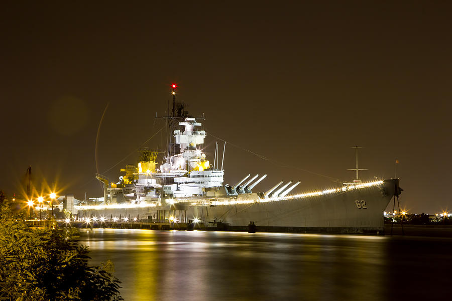 USS New Jersey by Paul Watkins