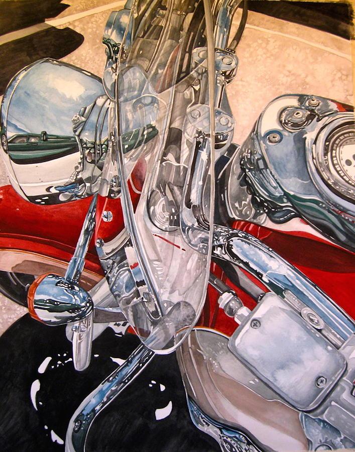 Utah Chrome Painting by Lance Wurst