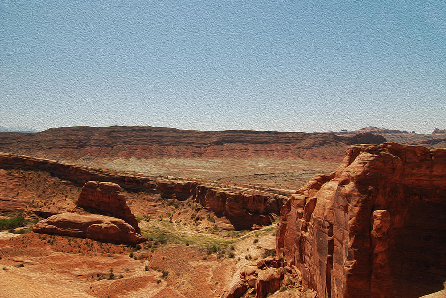 Arches National Park Photograph - Utah Landscape 2 by Tracy Winter