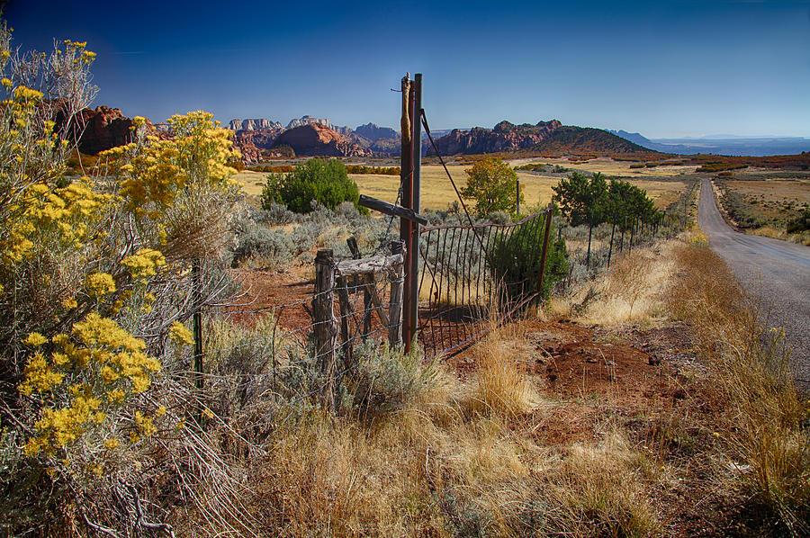 Utah Landscape by Sharon Beth