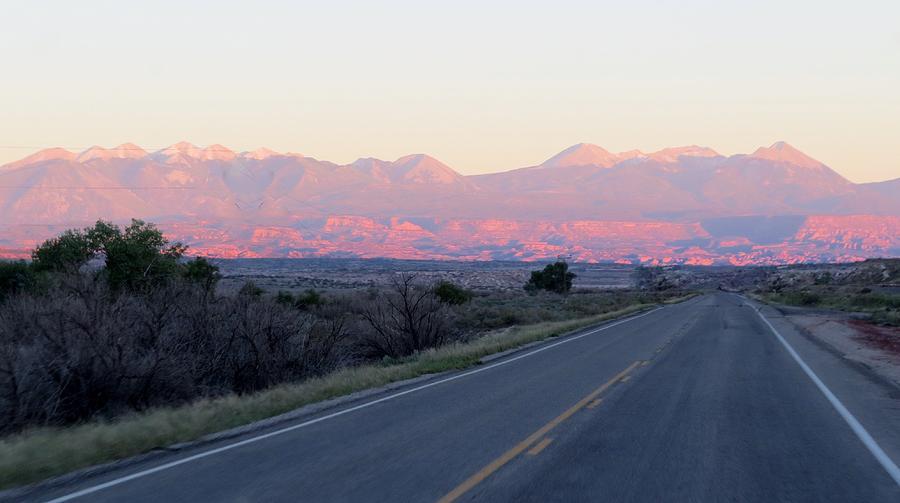 Mountains Photograph - Utah Mountains by Diane Mitchell