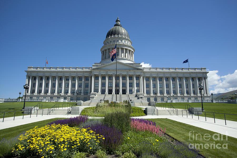 Utah State Capitol Photograph