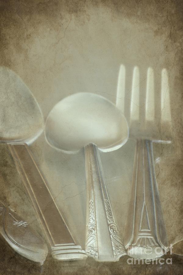 Utensils Photograph - Utensils by Sophie Vigneault