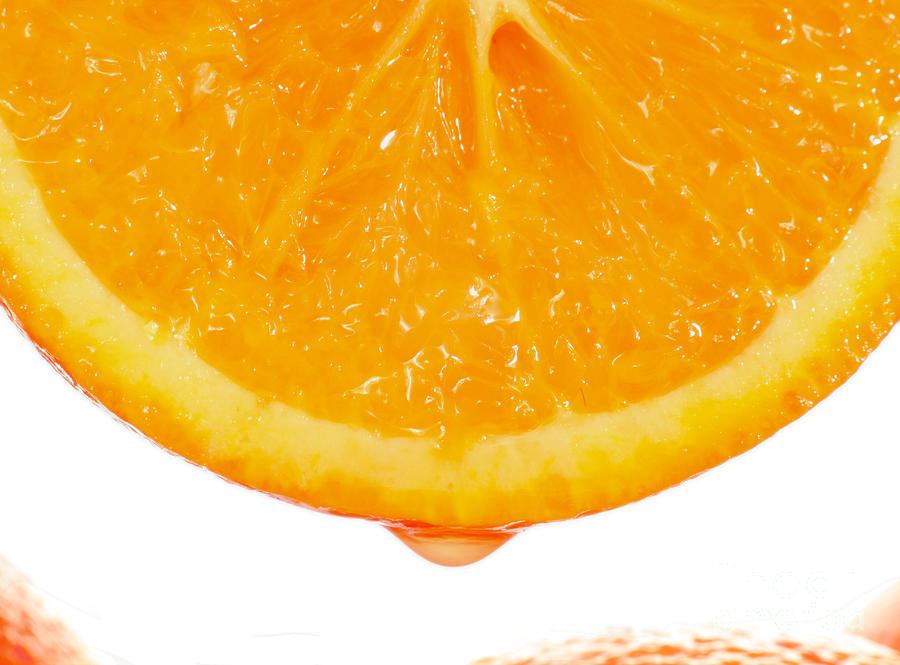 Orange Photograph - Utterly Orange by Paul Cowan
