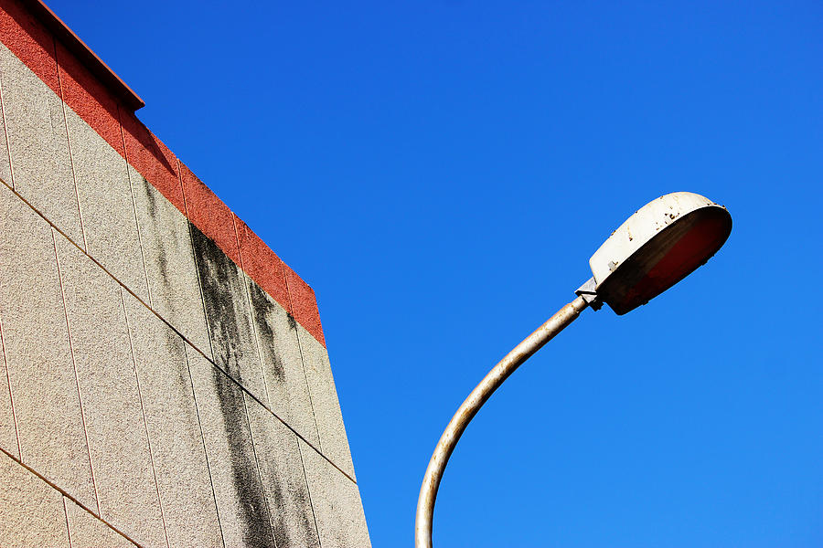 Clear Blue Skies Photograph - V Shaped Recovery by Prakash Ghai