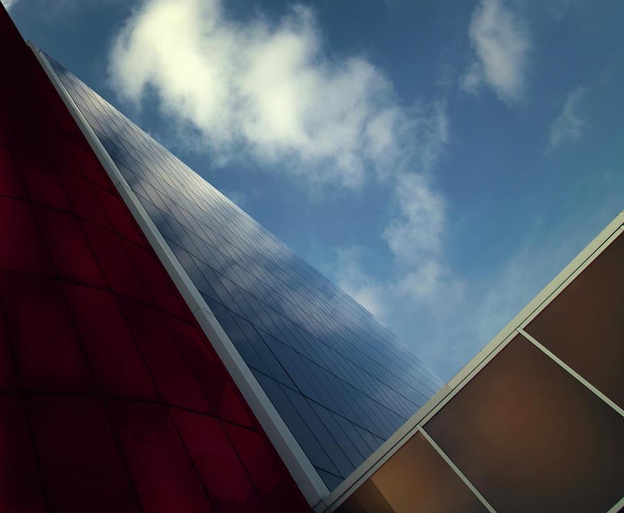 Architecture Photograph - V-view. by Harry Verschelden