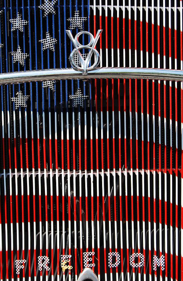 V8 Photograph - V8 Freedom by Jani Freimann