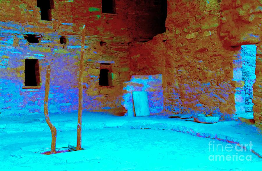 Mesa Verde Photograph - Vacancy At Spruce Tree House by Ann Johndro-Collins