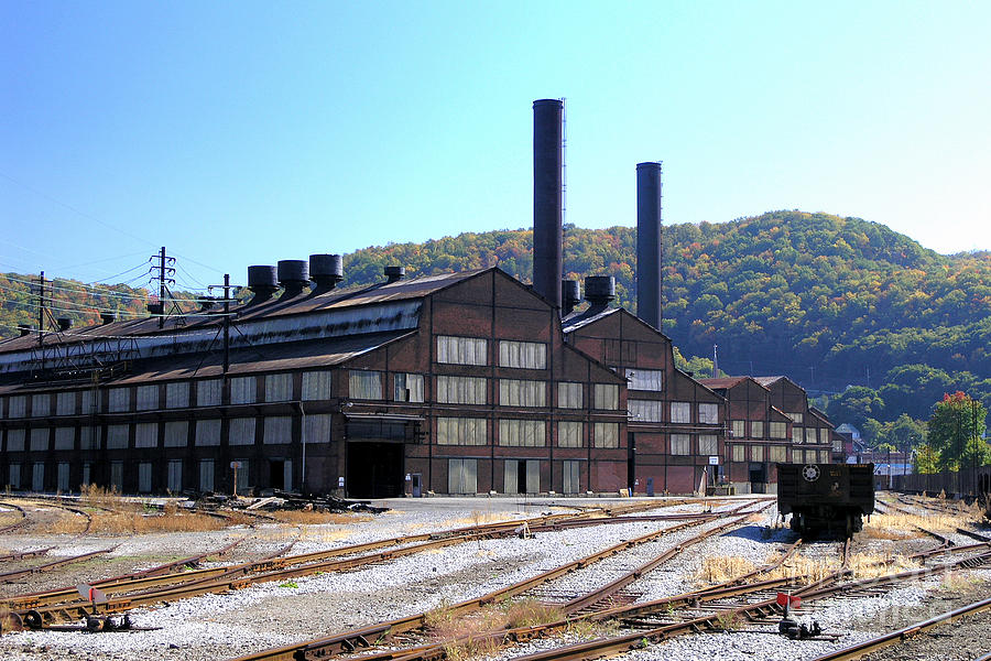 print photos from iphone vacant steel mill johnstown pa photograph by waclo 15906
