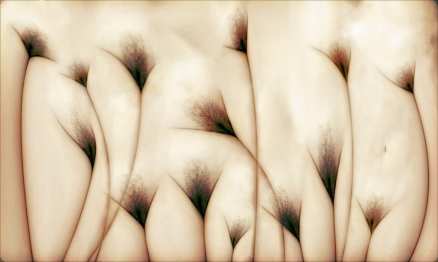 Fine Art Nude Photograph - Vaginae Terram by Carlos P. Vazquez