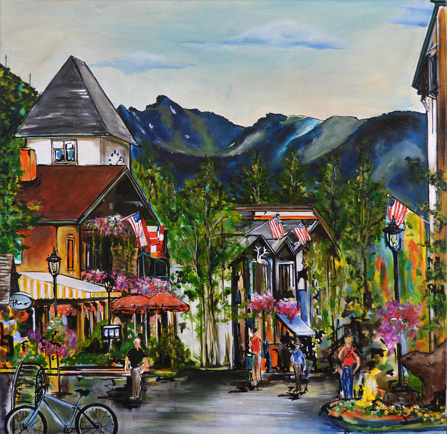 Vail Village Painting