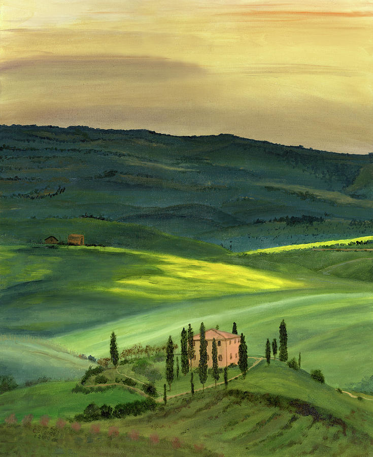 Italy Painting - Val D II by Cecilia Brendel