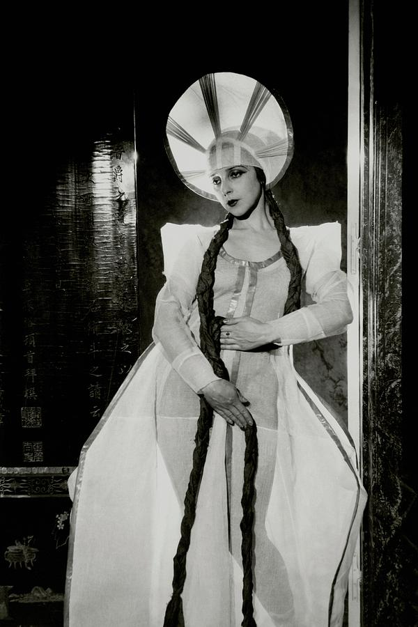 Valentina Koshubaas The Bride In Les Noces Photograph by Cecil Beaton