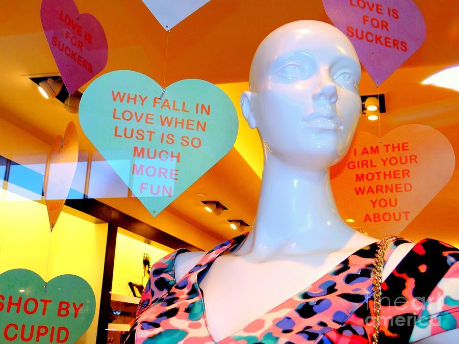 Mannequins Photograph - Valentine Vixen by Ed Weidman