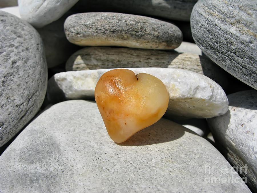 Valentine Photograph - Valentines Day - Precious Heart by Daliana Pacuraru