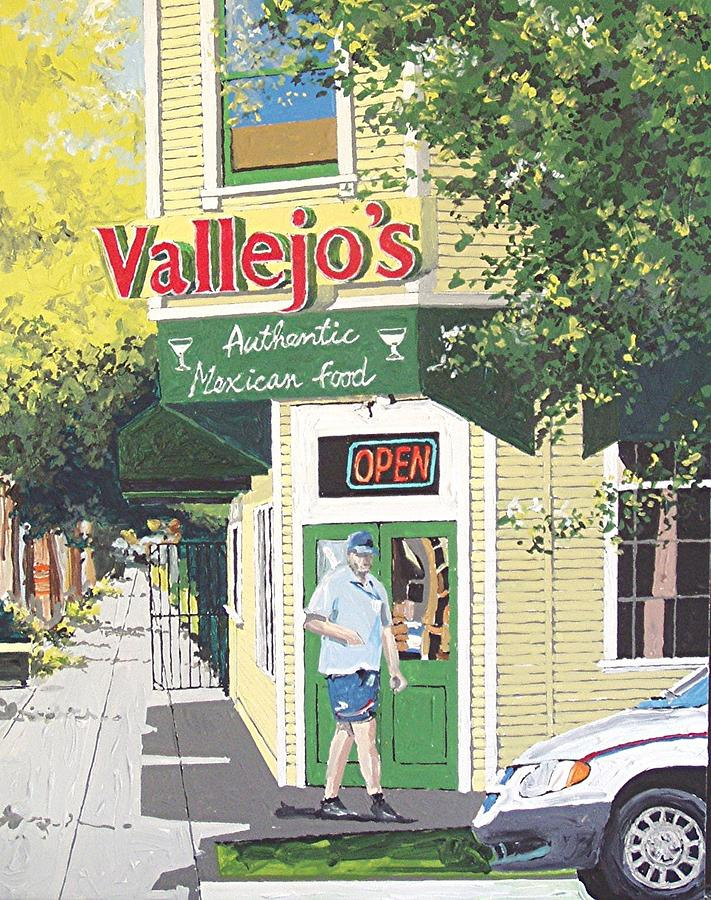 Sacramento Painting - Vallejos by Paul Guyer