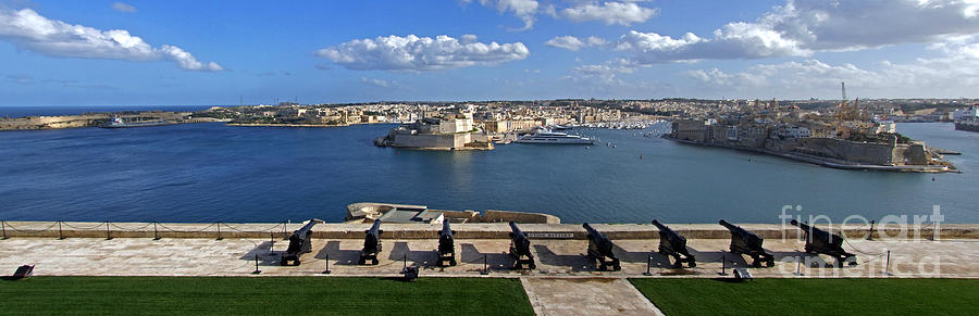 Valletta Grand Harbour in Malta by Mary Attard