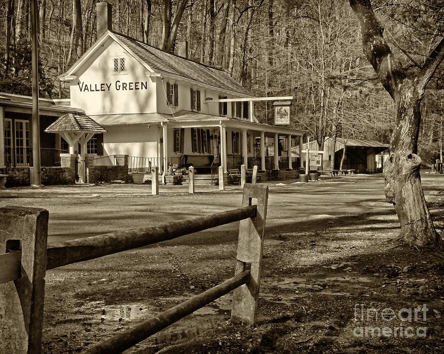 Valley Green Inn Photograph - Valley Green Inn 2 by Jack Paolini
