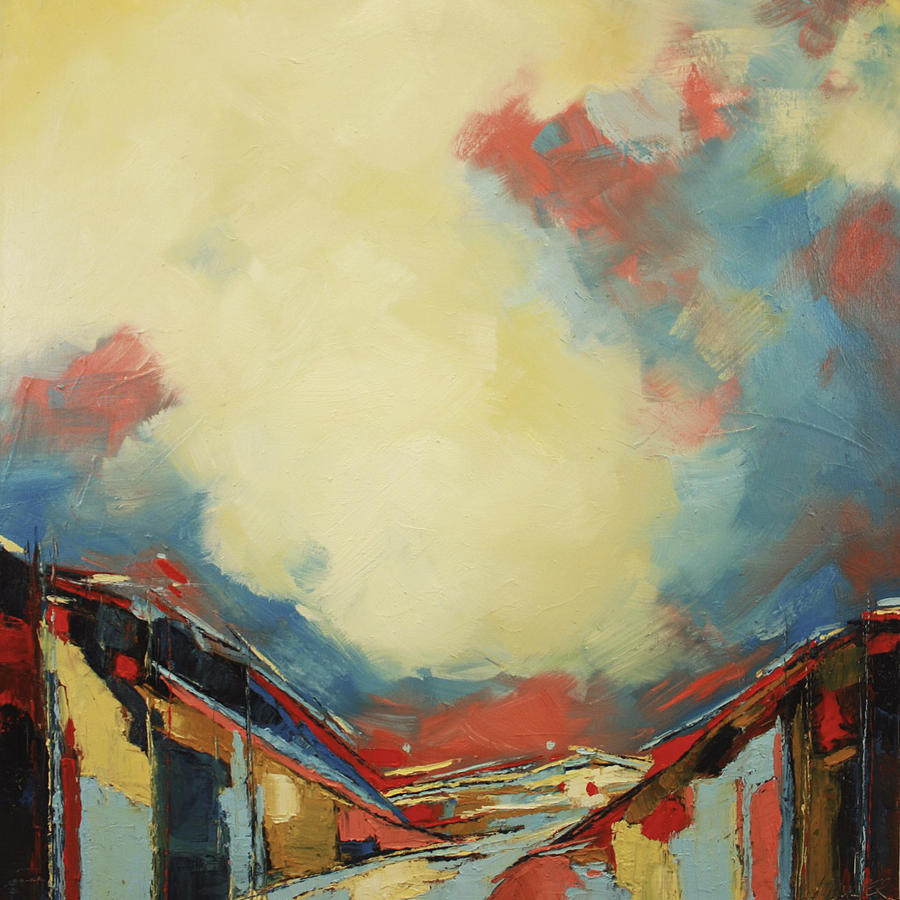 Abstract Painting Painting - Valley Iv by Sweet Murmur