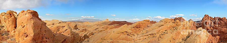 America Photograph - Valley Of Fire Pano by Jane Rix