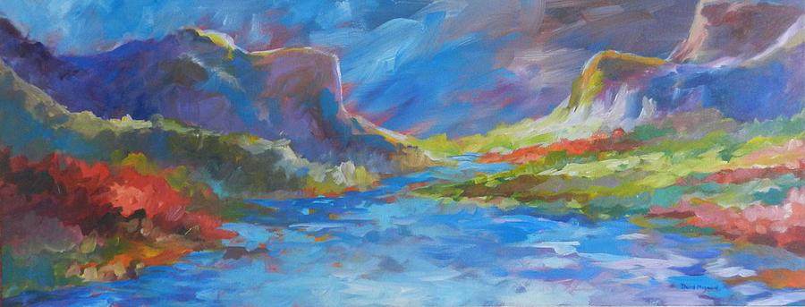 Yosemite Painting - Valley Of Light by David  Maynard