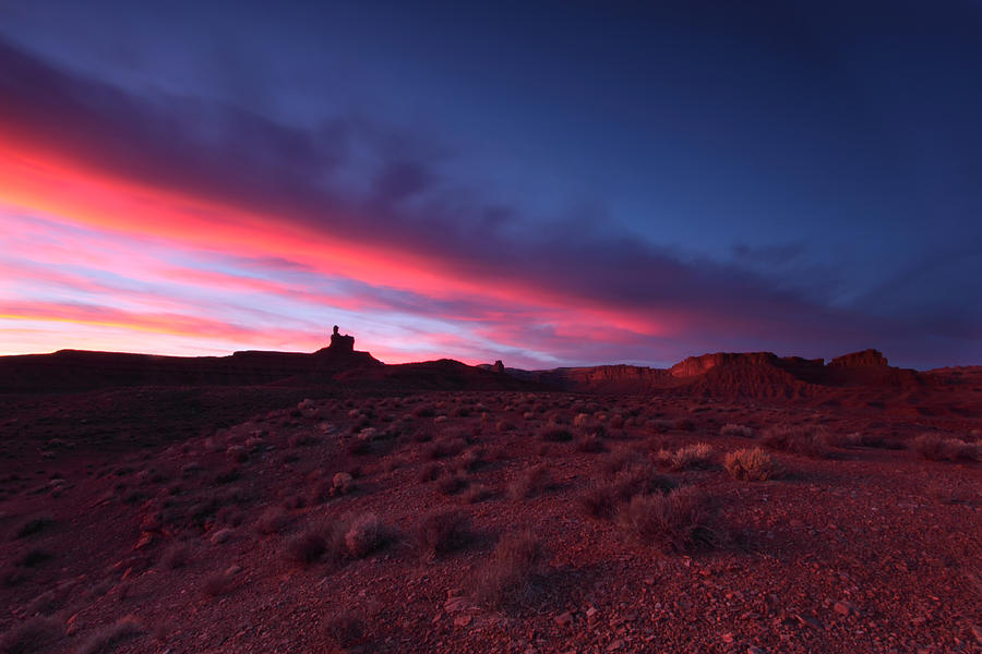 Landscape Photograph - Valley Of The Gods by Darryl Wilkinson
