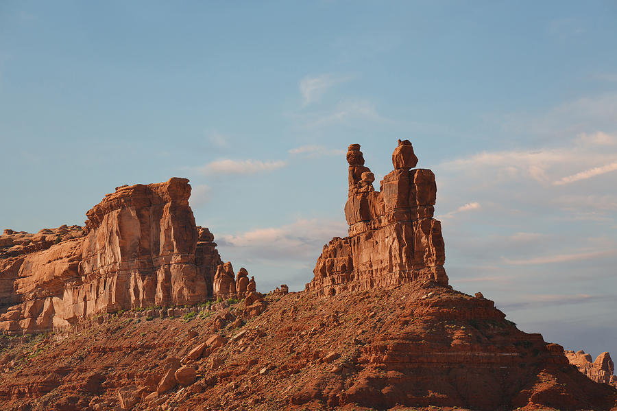 Valley Photograph - Valley Of The Gods - Escape From Civilization by Christine Till