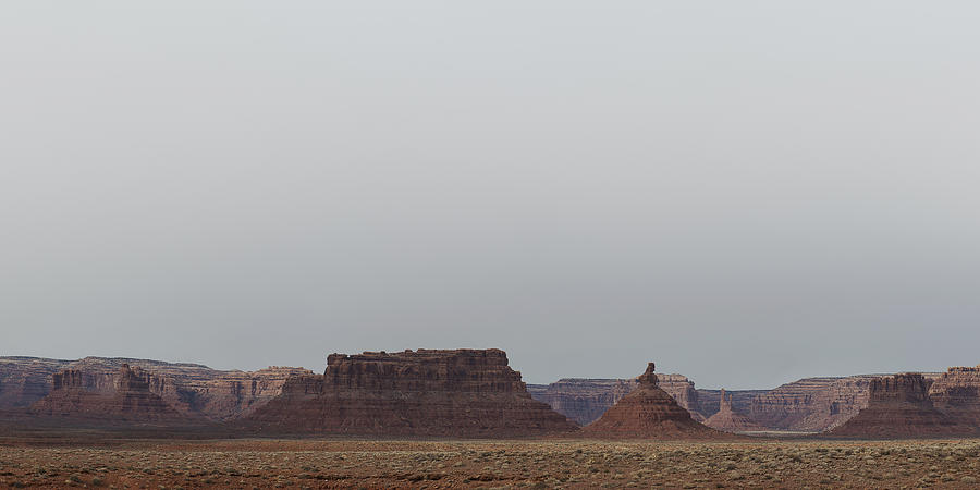 Valley Of The Gods Photograph - Valley Of The Gods by Mike Herdering