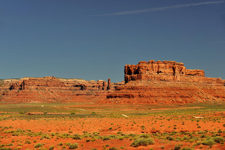 Valley Photograph - Valley Of The Gods - See What The Gods See by Christine Till