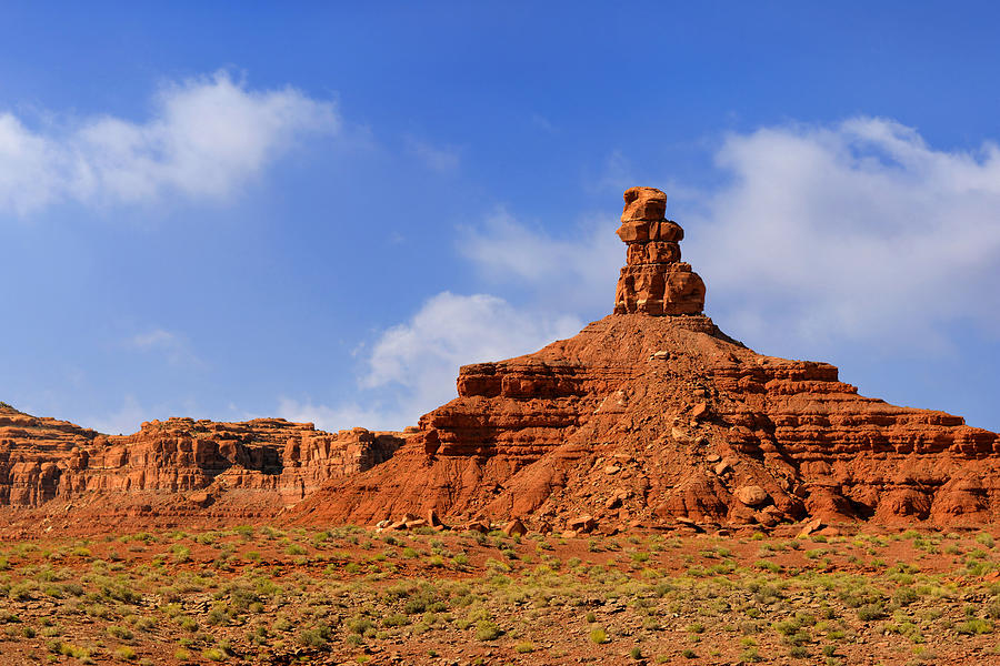 Valley Photograph - Valley Of The Gods Utah by Christine Till