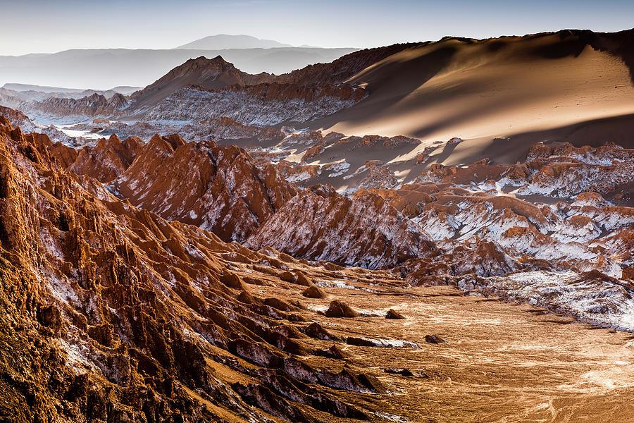Valley Of The Moon, Atacama Desert Photograph by Richard Ianson