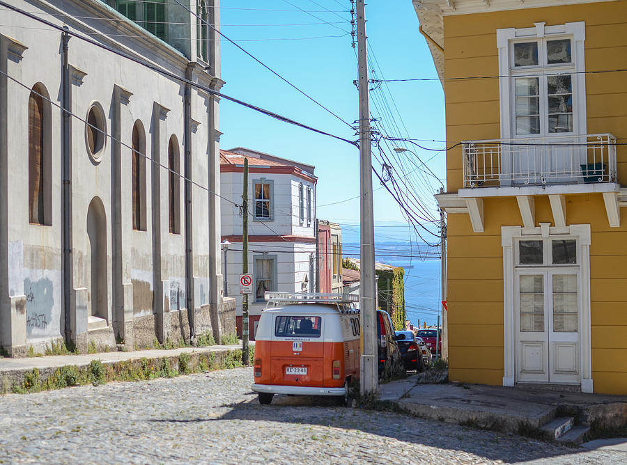 Valparaiso Photograph - Valparaiso Chile by Eric Dewar