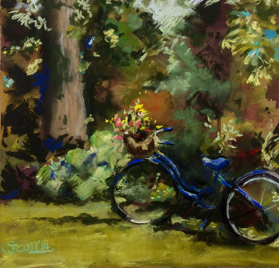 Val's Blue Bike by Judith Scull