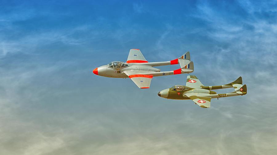 Vampire Photograph - Vampire Jets by Johan Combrink