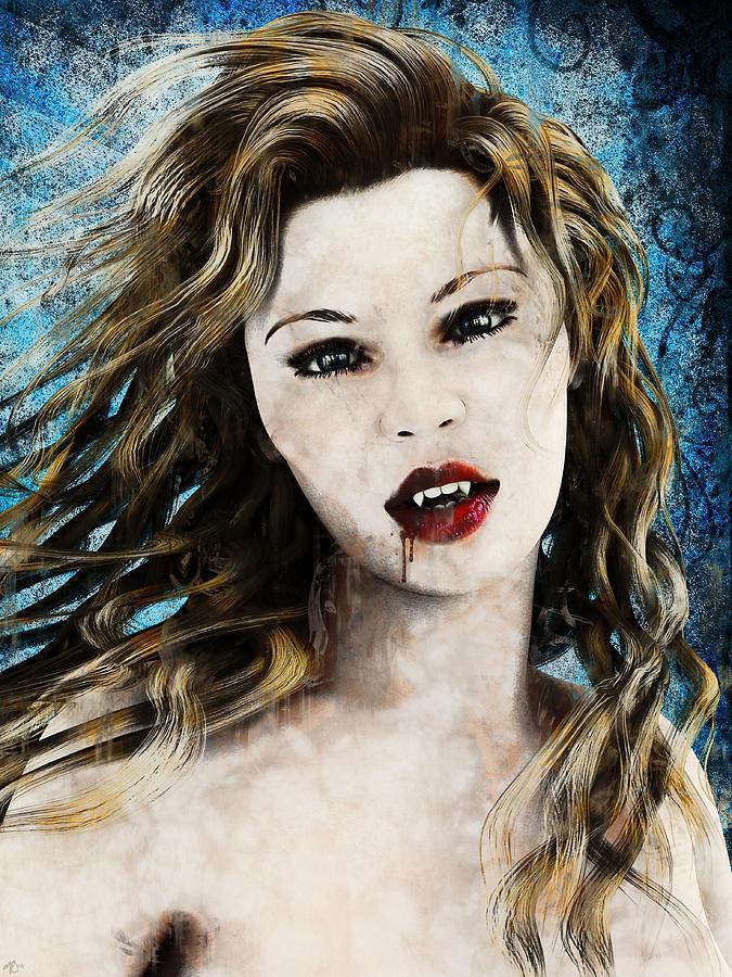 Vampyre Portrait by Maynard Ellis