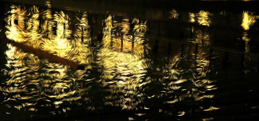 Night Photograph - Van Go Nights by Scott Ware